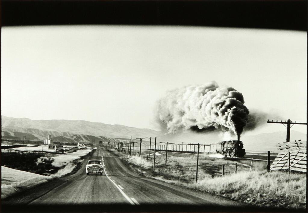 Wyoming USA 1954 by Elliot Erwitt